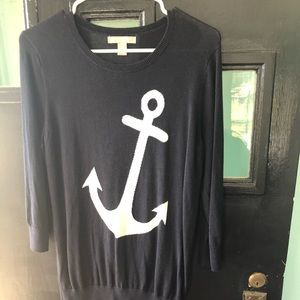 Medium Banana Republic navy sweater